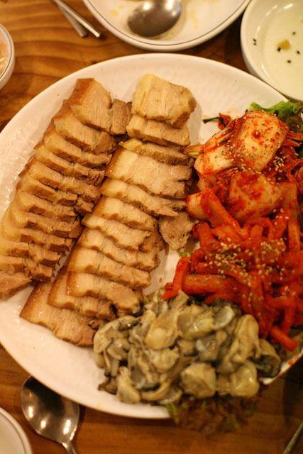■鍾路「ポッサム通り」の「クルポッサム」は蜜の味!♪ | 韓国・ソウルの中心で愛を叫ぶ!