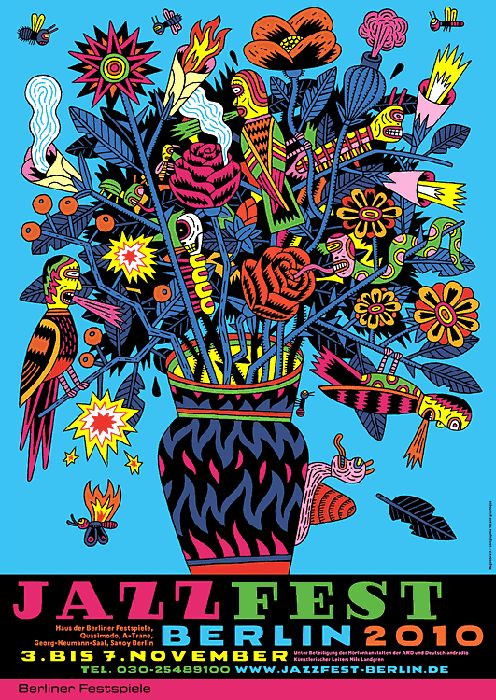 Jazz10 – Plakat – Wagenbreth