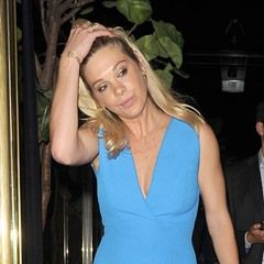 Chelsy Davy leaves Isabel restaurant in Mayfair after dinner with mystery man