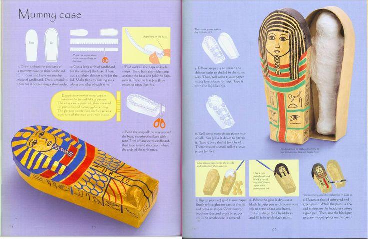 Egyptian Mummy Craft Project