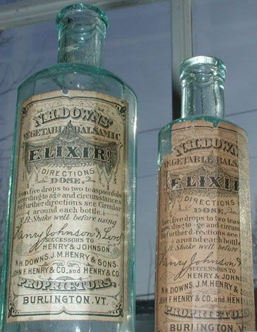 Antique bottles for sale - Specializing in early Vermont Medicine bottles