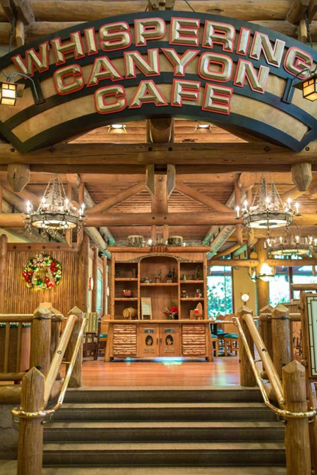 Whispering Canyon Cafe in Disney's Wilderness Lodge