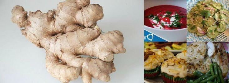 10 recetas con jengibre para adelgazar de forma saludable