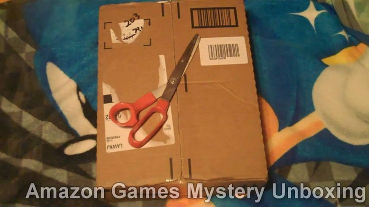 Mystery Unboxing of Games From Amazon