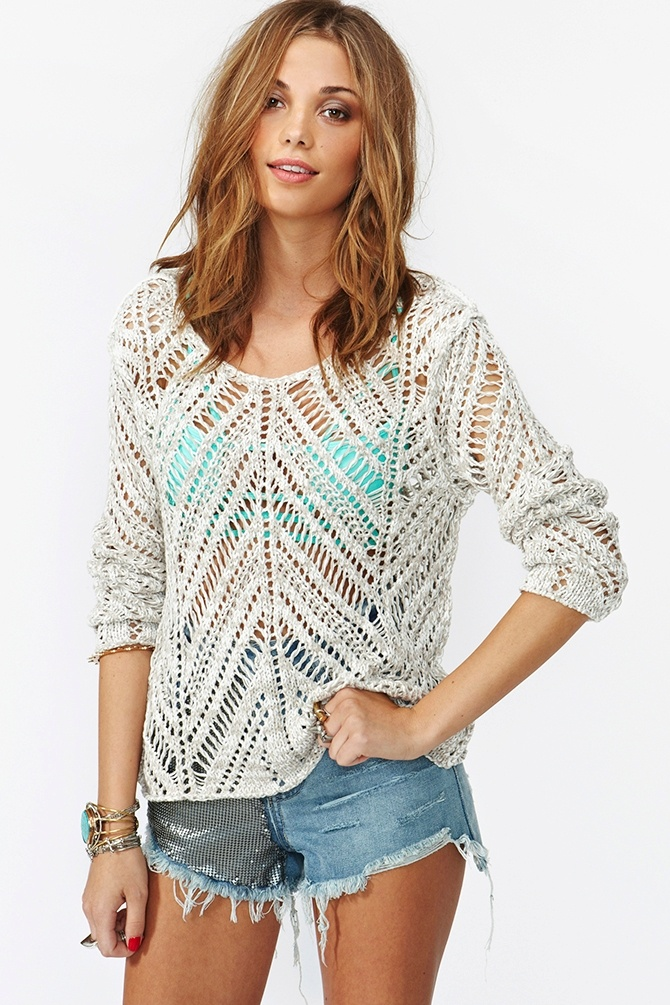 Chelsea Knit - Cream - like this knit!
