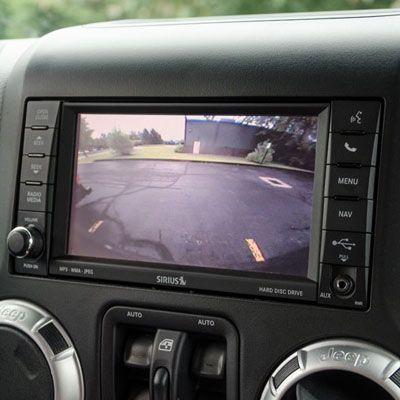 AEV Rear Vision System - Rear Camera System for Jeep Wrangler JK