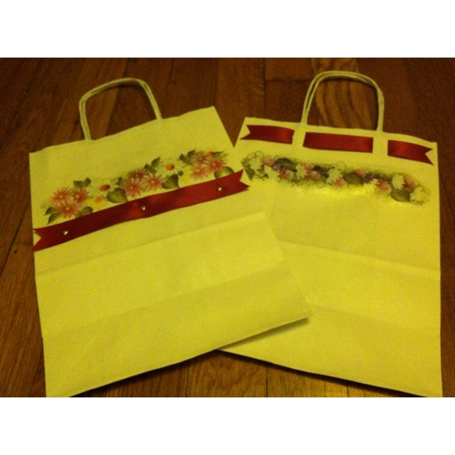 Plain ordinary gift bags personalized for Mother's DayOrdinary Gift, Bags Personalized, Gift Bags, Plain Ordinary