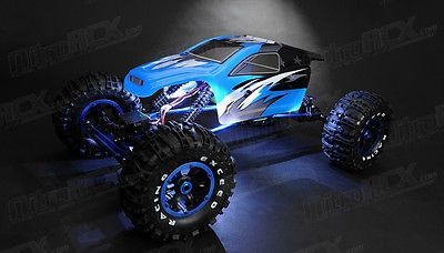 Price - $214.95. 1/8 2.4Ghz Mad Torque R/C Rock Crawler Ready To Run RTR BLUE With LED Lighting ( Brand - Exceed RC, MPN - Does Not Apply, Type - Rock Crawler, Fuel Source - Electric, State of Assembly - Ready To Run, Scale - 1:8, Gender - Boys & Girls, Model - Mad Torque 1/8, Country of Manufacture - China, Ages - 14+, Length - 22.83 inches (580mm), Width - 13.94 inches (354mm), Height - 9.25 inches (235mm), Color - Blue, UPC - Does Not Apply    )