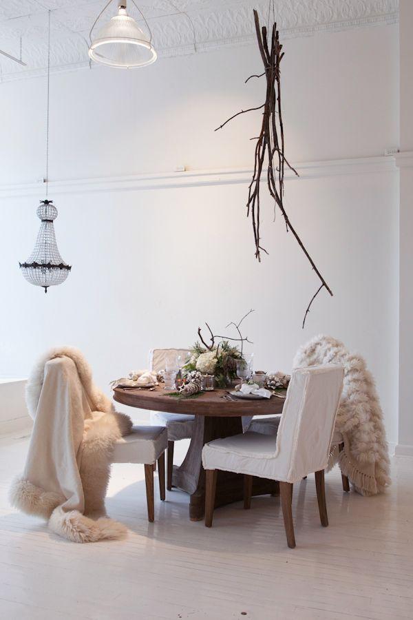 Light & Simple Holiday Decor #minimal #modern #scandinavian style decor found at Leuk in Collingwood, Ontario