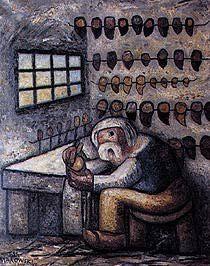 Tadeusz Makowski, The Shoemaker, 1930