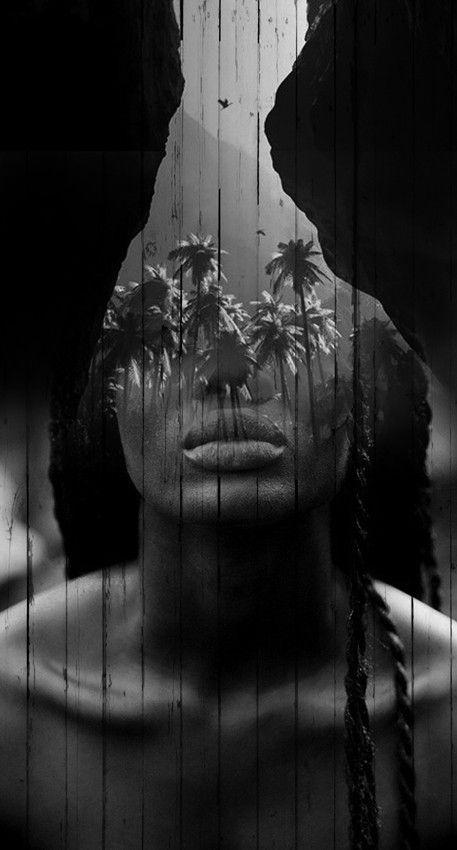 Unusual Pairings Beautifully Blend into Dreamlike Portraits by Spanish-based artist Antonio Mora