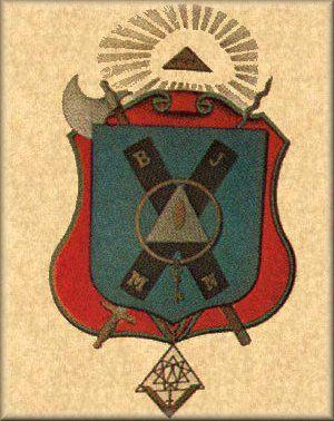 Brasão do Grau de Grande Escocês de Santo André - Rito Escocês Antigo e Aceito