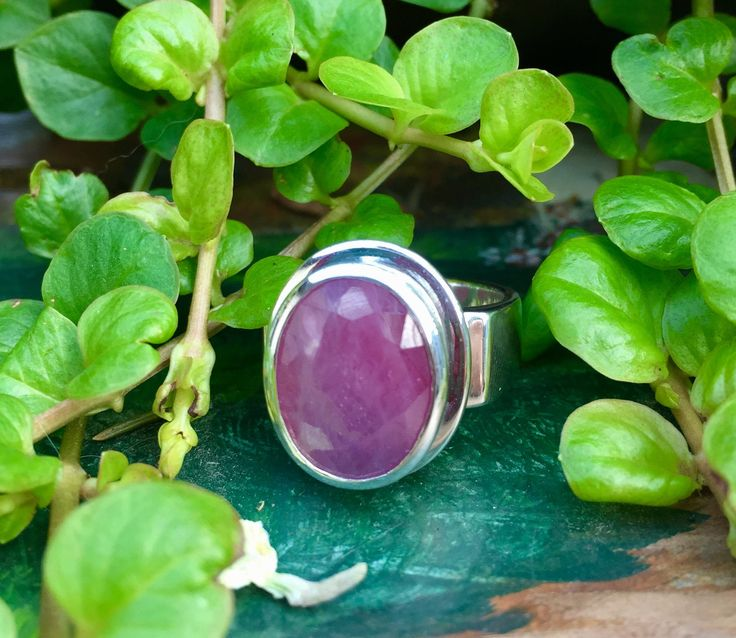 A personal favorite from my Etsy shop https://www.etsy.com/ca/listing/535992270/genuine-ruby-faceted-and-set-in-the