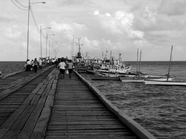 Muelle de puerto cabezas, nicaragua