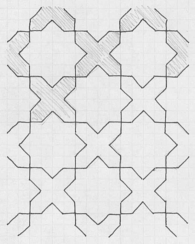 41 best images about islamic patterns on pinterest how for How to draw mosaic patterns