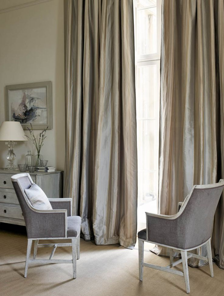 Colefax And Fowleru0027s Juliana (drapes), Layton (chairs), Barbizon (pillow ·  Furniture UpholsteryUpholstery FabricsHome ...