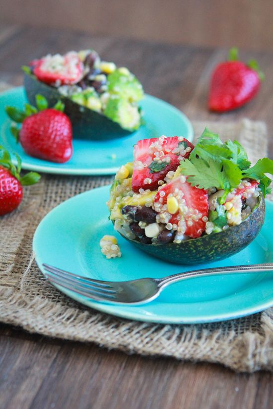 Strawberry-Avocado Quinoa Salad