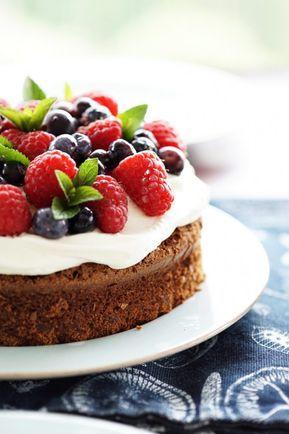 Der beste Schokoladen-Beeren-Kuchen der Welt & Home Inspiration: Terrasse & Garten