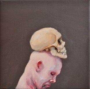 161 (fool), Michael Kvium. Galleri Franz Pedersen