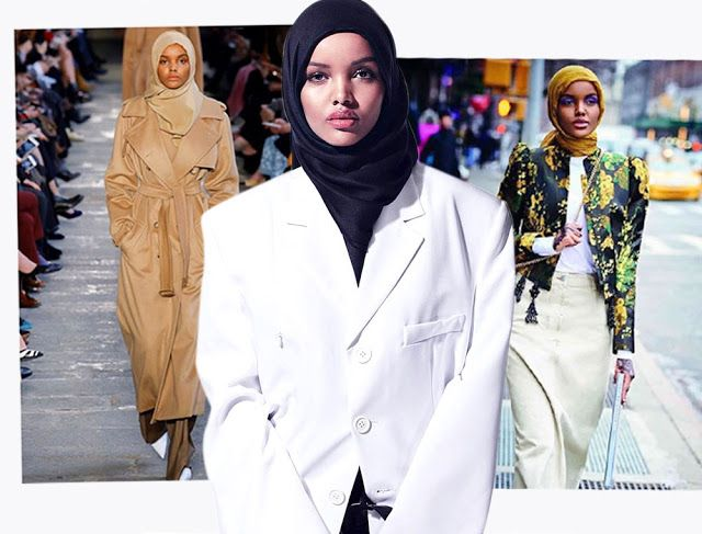 All Things Scrambled: 6 Gaya Modern Model Berhijab Halima Aden