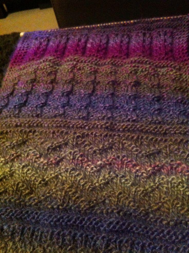 Variegated scarf