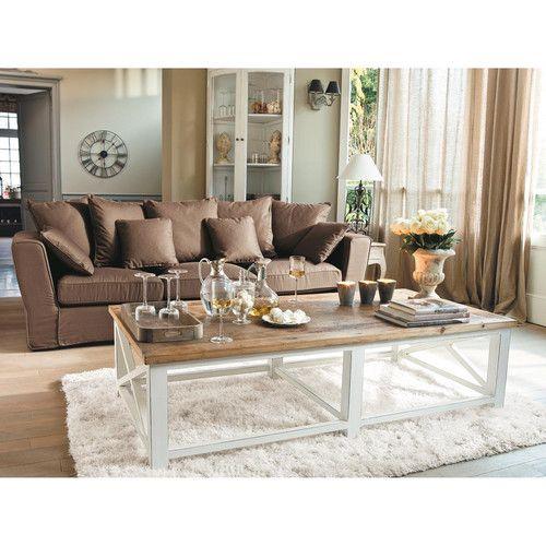 Mueble esquinero de madera blanca An. 68 cm