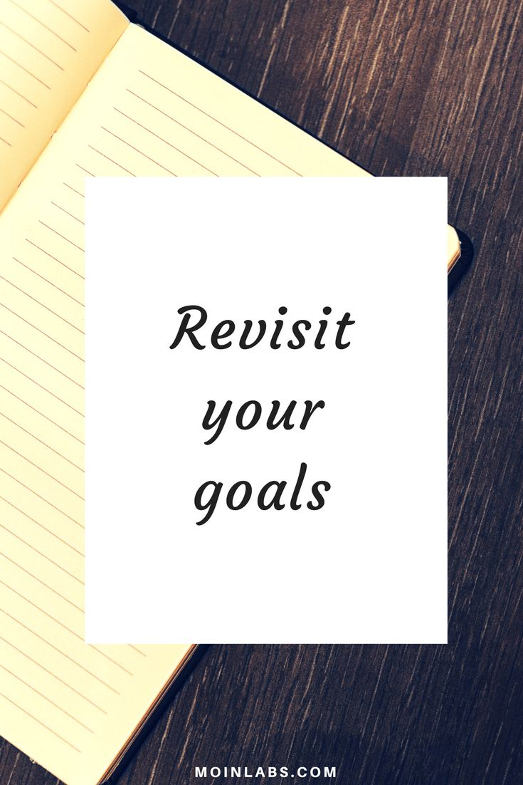 Goal-setting activities: Revisit your goals on a regular basis. Visit our site to join a free goal-setting challenge...
