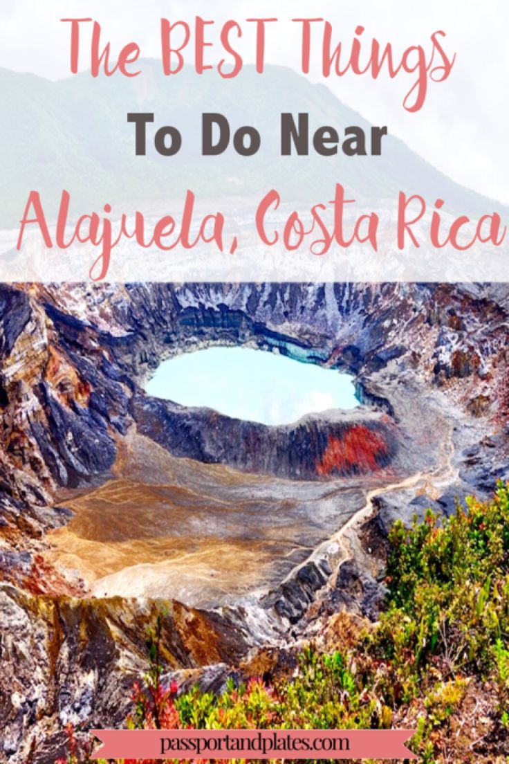 Due to an unexpected change of plans, we found ourselves in Alajuela, Costa Rica (near the San Jose airport) for 3 days. If you find yourself in the same situation, don't worry! CLICK to read the best things to do near San Jose Airport, Costa Rica!