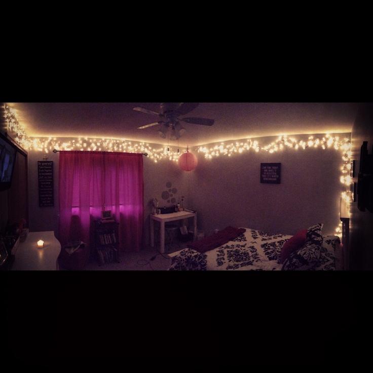 Bedroom Lighting Lux Levels Bedroom Christmas Decorations Pinterest Power Rangers Bedroom Accessories Bedroom Color Schemes Red: Best 25+ Christmas Lights Bedroom Ideas On Pinterest