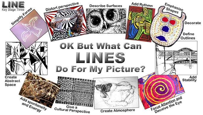 Give The Elements Of Art : Best lines art lessons images on pinterest