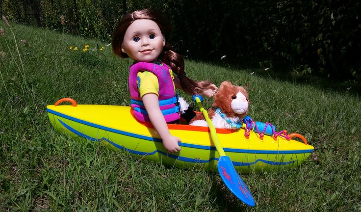 Diva dolls step aside...there's a new doll in town and she's exactly what you're going to want your kids to play with.
