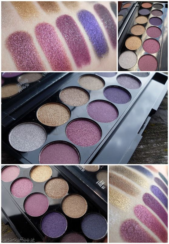 Sleek Makeup Vintage Romance -gorgeous palette for autumn! Especially for brown/green eyes.