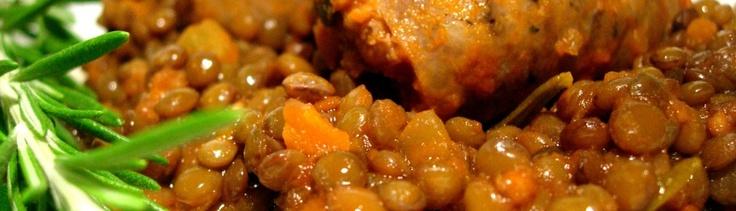 Lenticchie e salsicce, Ricetta invernale tradizionale