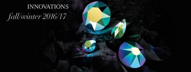 New Swarovski Crystal Colors and Effects Fall Winter 2016 Innovations