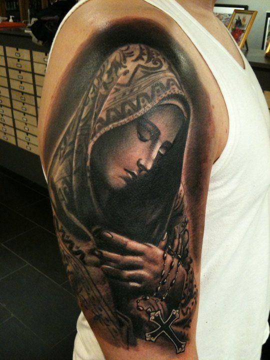 17 Best ideas about Virgin Mary Tattoos on Pinterest ...