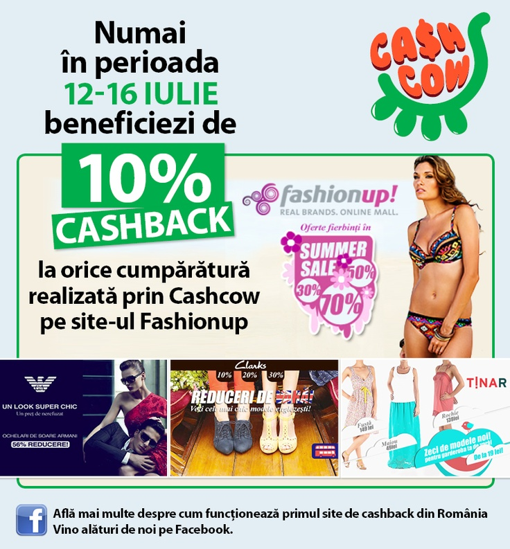 fashion special offer.  Fashion Up si Cashcow. Dress for the summer!  http://www.cashcow.ro/ro/view_retailer.php?rid=49