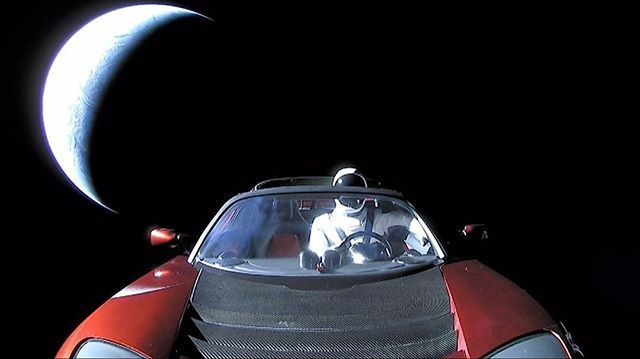 Congrats to Elon Musk and the People of Space X. A truely great achievement for not just your company but for humanity as well. @elonmusk @elonmusknews @elon_musk_official  #spacex #falconheavy #falconheavyrocket #tesla #teslaroadster #mars #missiontomars