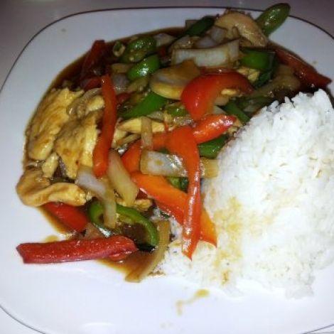 Rezept Gebratenes Hühnerfleisch mit Austernsauce    #kochen #rezepte #kochrezepte #chinesisch