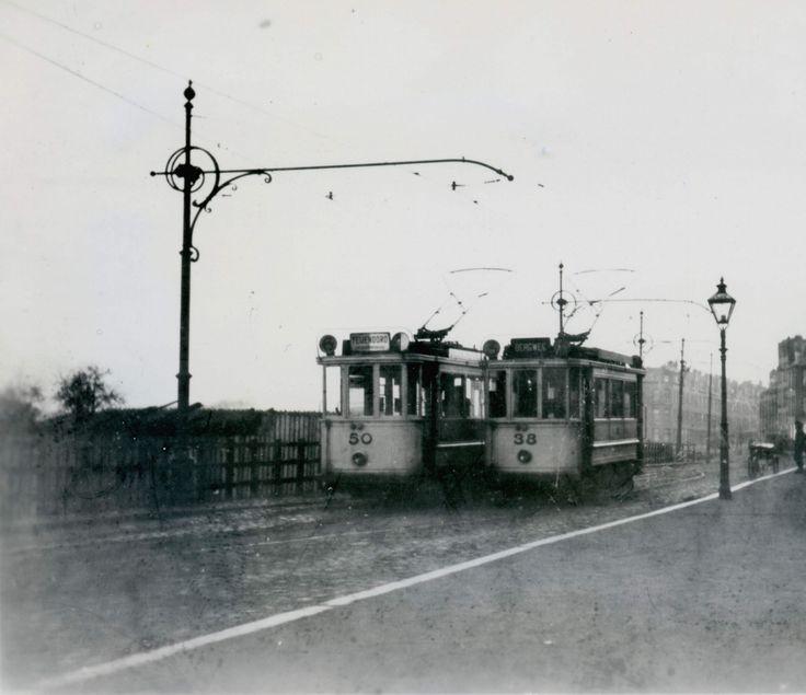 nog een foto uit de 20er jaren van het trammetje in de. Black Bedroom Furniture Sets. Home Design Ideas