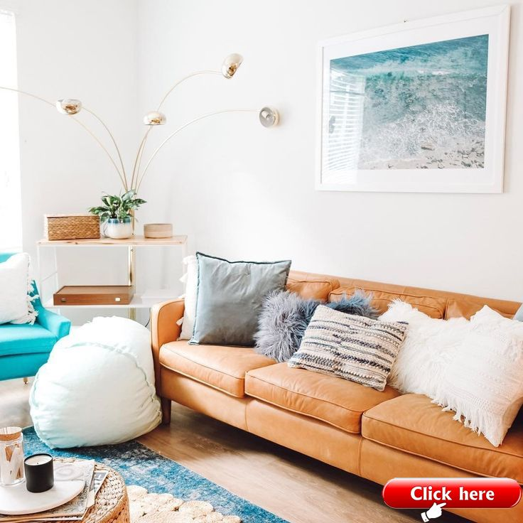 10+ Most Popular Turquoise And Coral Living Room