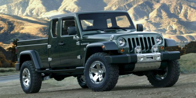 2017 Jeep Wrangler Pickup: Everything We Know