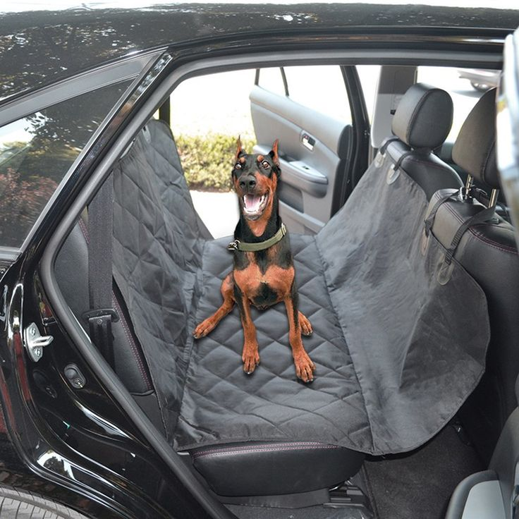 Daily Mall Cutton Dog Car Seat Waterproof Front Back Covers With New Nonslip Backing Machine Washable For CarsSUV Cover Black 5854 Check Out