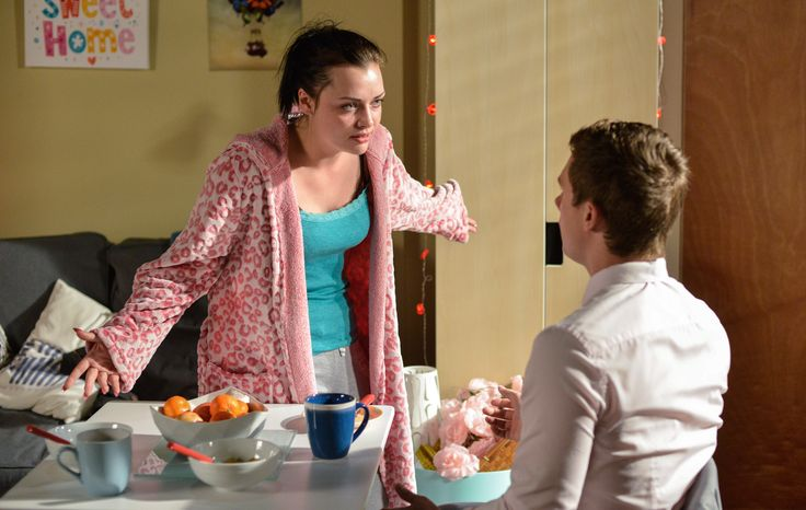 EastEnders: see Whitney confront Lee - will he admit the truth? Watch the scene