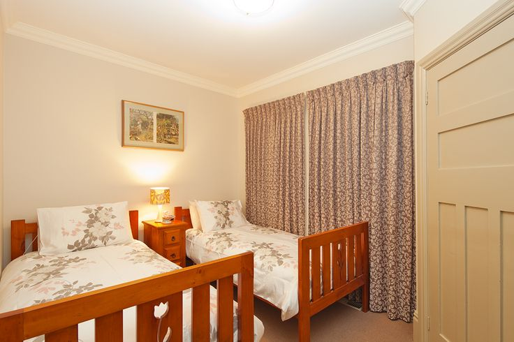 Third bedroom, sunny-side, at Brantwood Cottage Blue Mountains Accommodation in Blackheath NSW