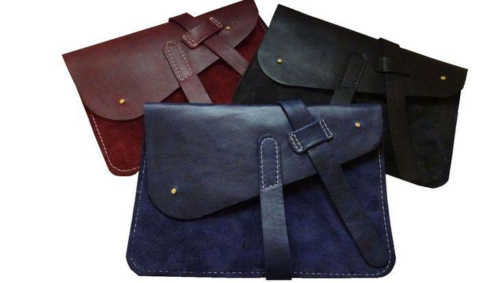 Leather travel document case -A5 passport/Documents organizer handmade LOTHS UK