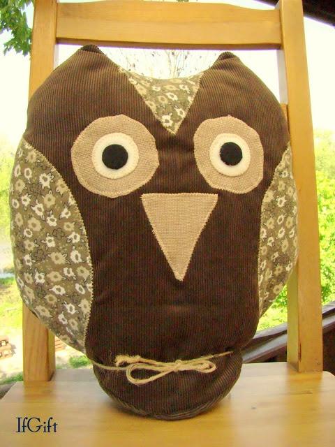 IfGift: owl pillow :)