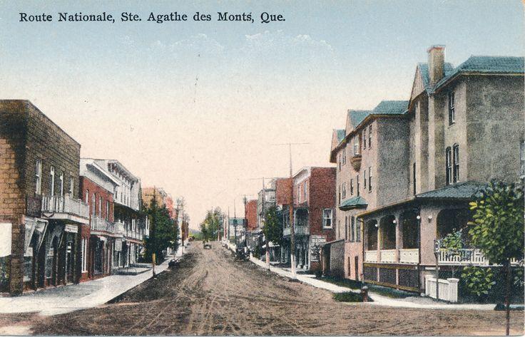 Ste-Agathe-des-Monts, Québec Route nationale