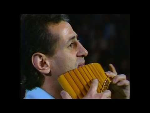 (11) JAMES LAST with GHEORGHE ZAMFIR - The Lonely Shepherd/Alouette. Live in London 1978 (HD). - YouTube