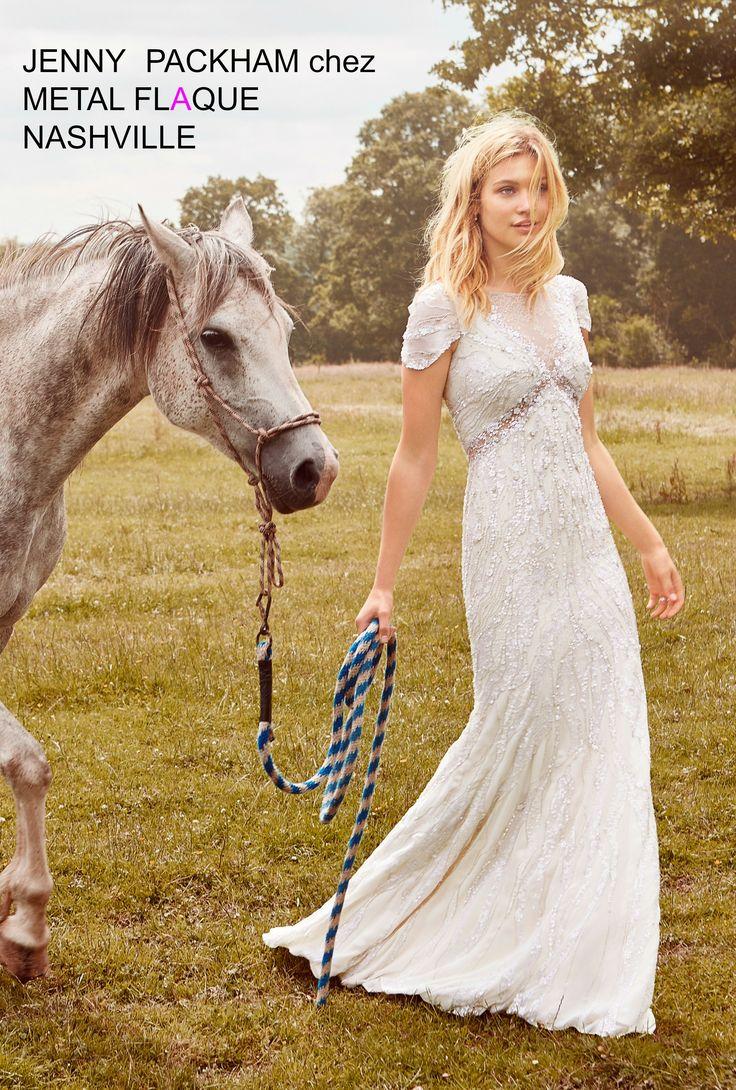 Nashville, robe de mariée Jenny Packham à Paris.  #robedemariée #robesdemariée #weddingdress #weddingdresses #JennyPackham