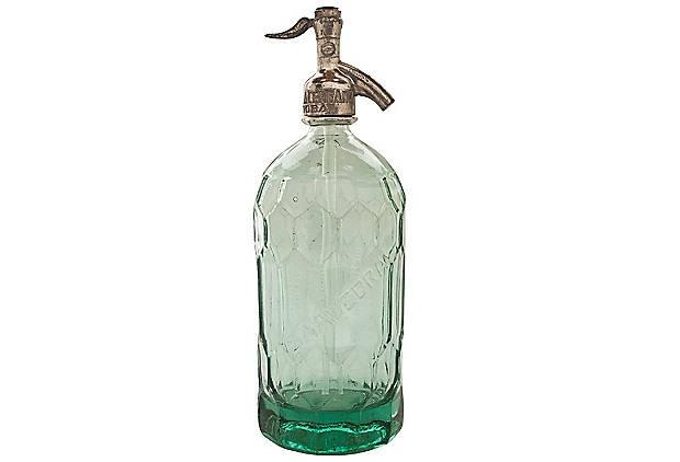 Saavedra Collection Seltzer Bottle
